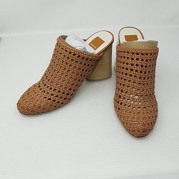 ee49816f9df9 Dolce Vita Shoes - Dolce Vita Caramel Woven Heels